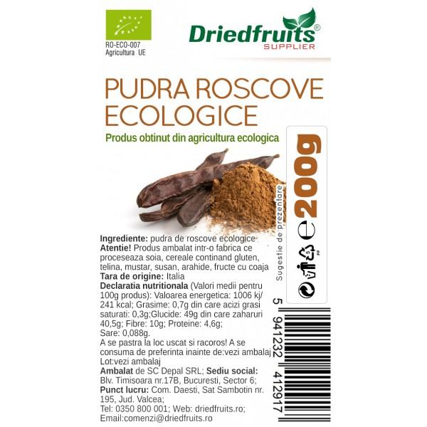 Roscove pudra BIO Driedfruits - 200 g