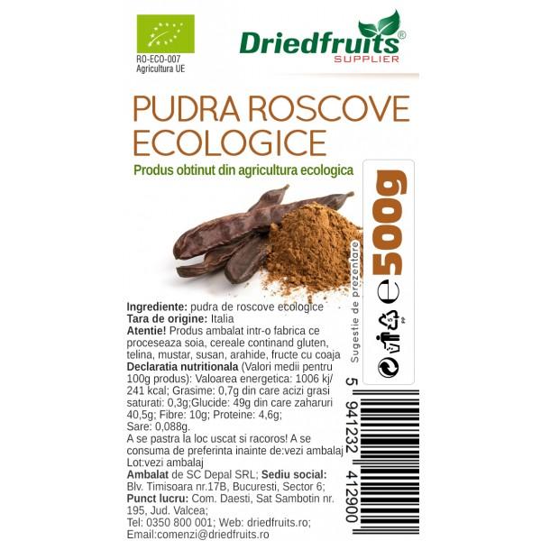 Roscove pudra BIO Driedfruits - 500 g
