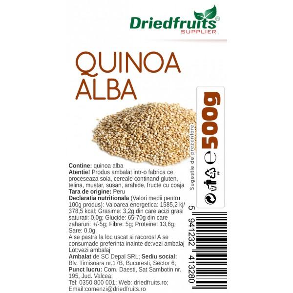 Quinoa alba Driedfruits - 500 g