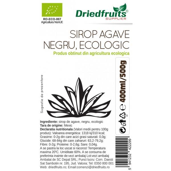 Sirop agave RAW (dark) BIO Driedfruits - 500 g