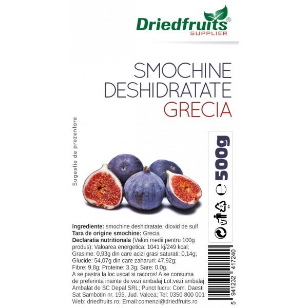 Smochine deshidratate calitatea I Grecia - 500 g