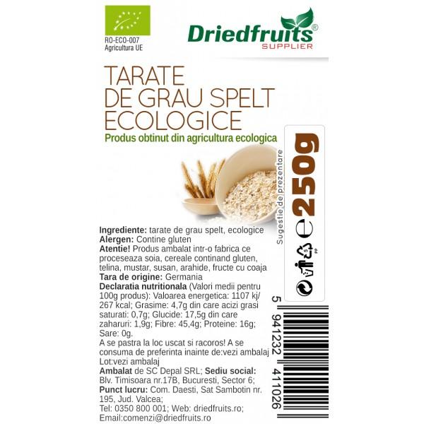 Tarate grau spelt BIO - 250 g
