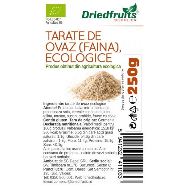 Tarate ovaz (faina) BIO - 250 g