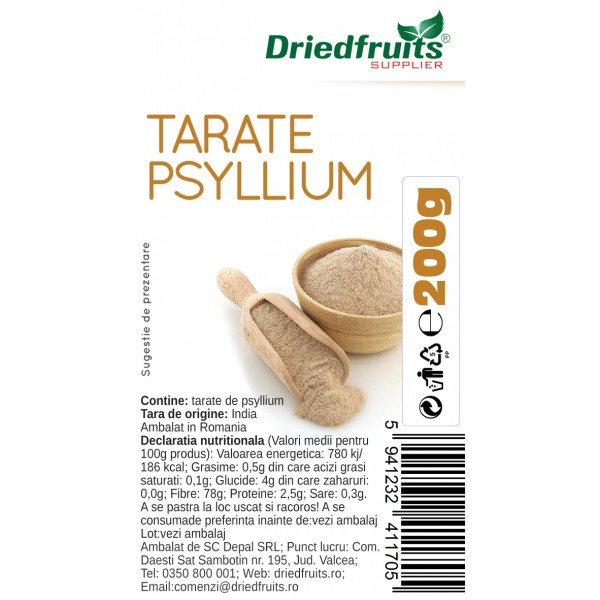Tarate psyllium - 200 g