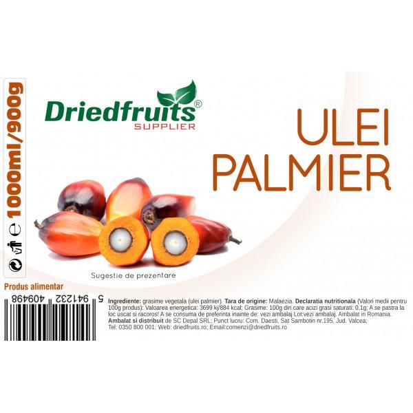Ulei palmier pentru gatit (borcan) - 1000 ml/900 g