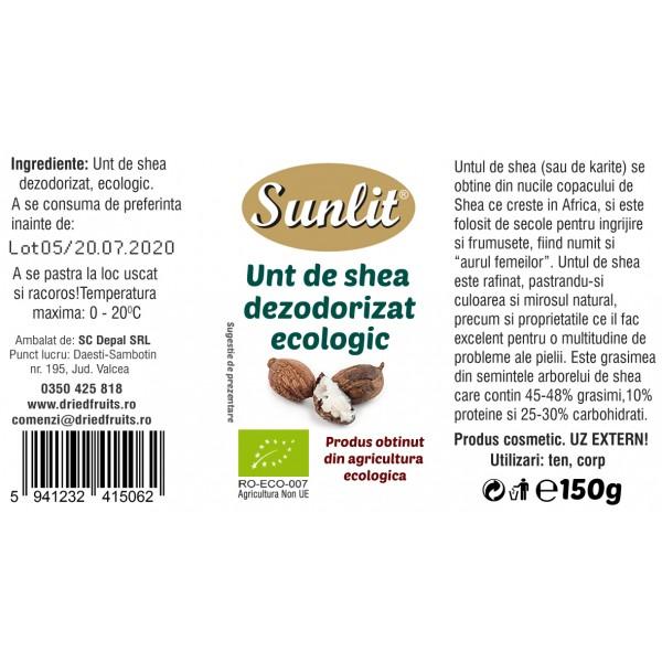 Unt shea cosmetic BIO Driedfruits - 150 g