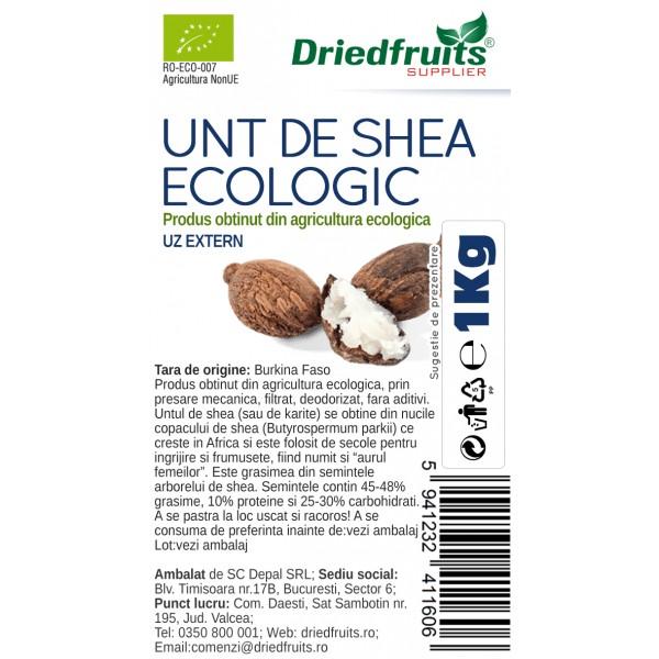 Unt shea cosmetic BIO Driedfruits - 1 kg