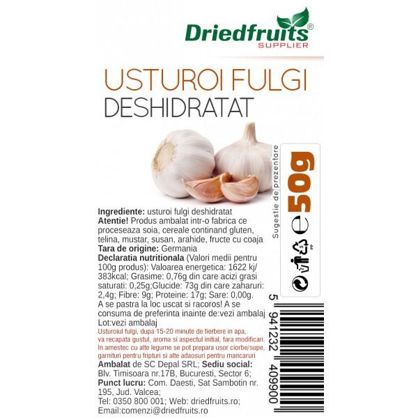 Usturoi fulgi deshidratat - 50 g
