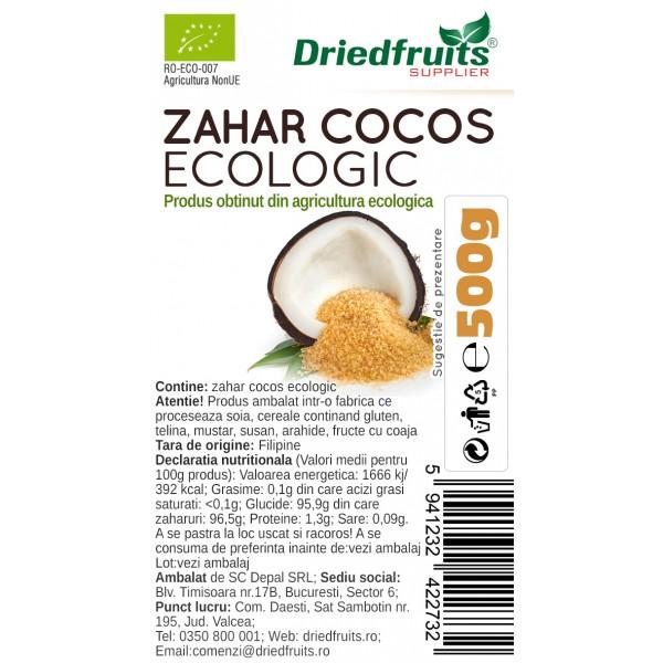 Zahar cocos BIO - 500 g