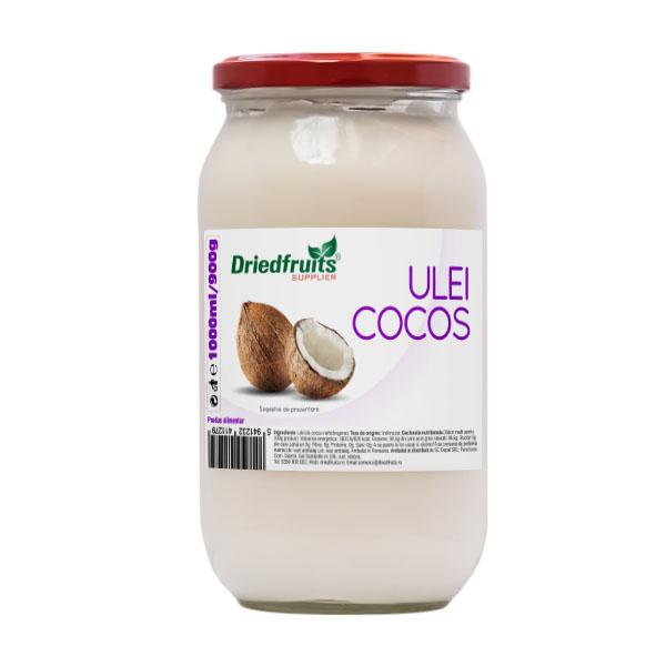 Ulei cocos pentru gatit (borcan) Driedfruits - 1000 ml/900 g