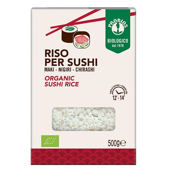 Orez pentru sushi BIO Probios - 500 g