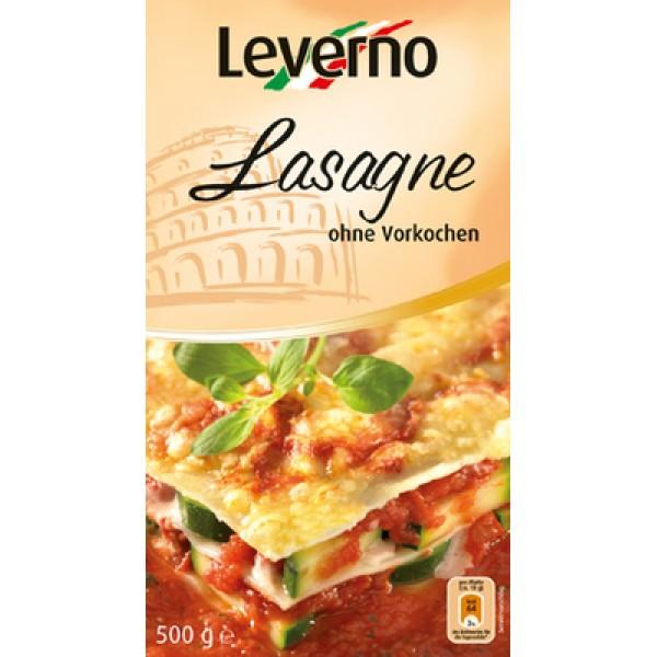 Foi pentru lasagna (fara ou) Leverno - 500 g