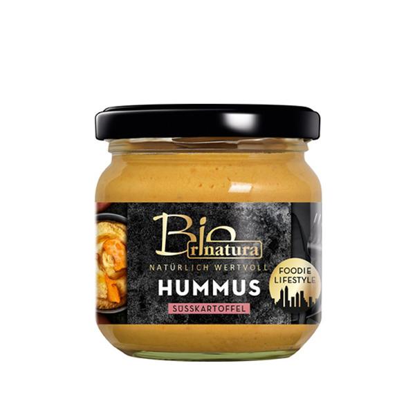 Humus cu cartof dulce BIO Rinatura - 180 g