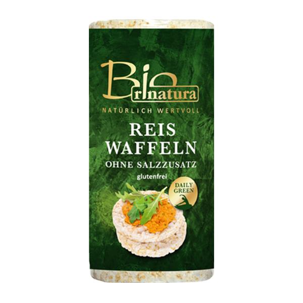 Rondele de orez expandat fara sare (fara gluten) BIO Rinatura - 100 g