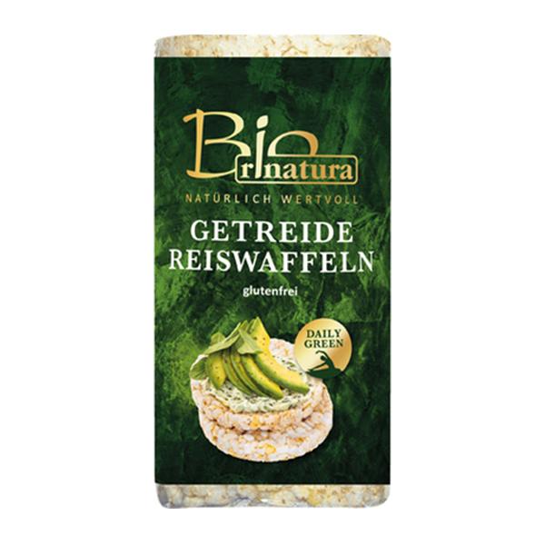 Rondele de orez expandat si cereale (fara gluten) BIO Rinatura - 100 g