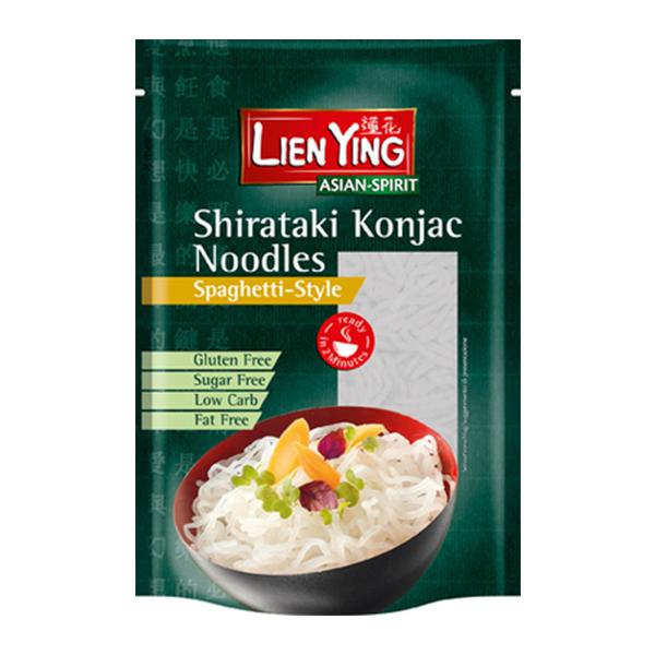 Spaghetti Shirataki Konjac (fara gluten) Lien Ying - 270 g