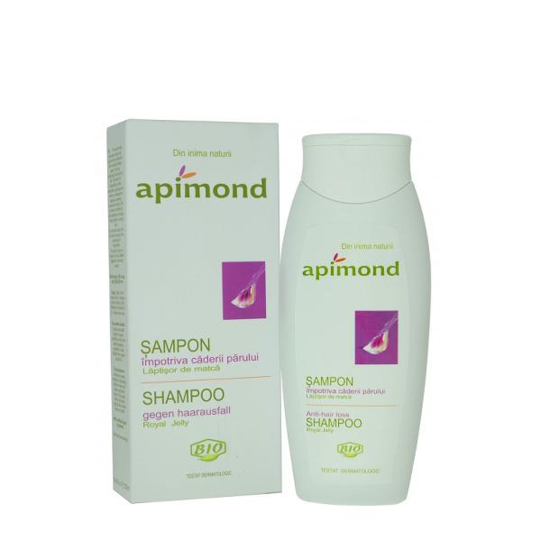 Sampon impotriva caderii parului cu laptisor matca BIO Apimond - 250 ml