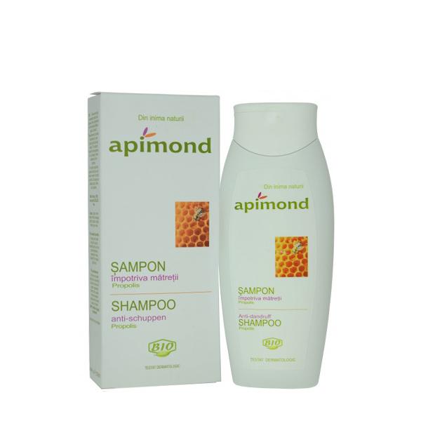 Sampon impotriva matretii cu propolis BIO Apimond - 250 ml