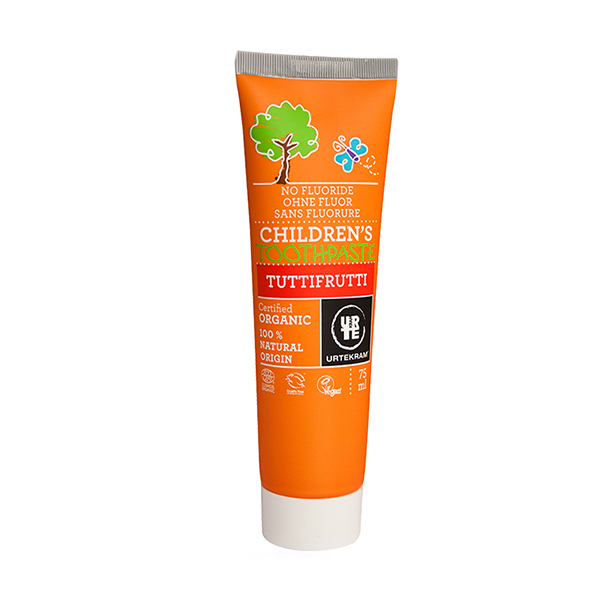 Pasta de dinti Tuttifrutti pt copii BIO Urtekram - 75 ml