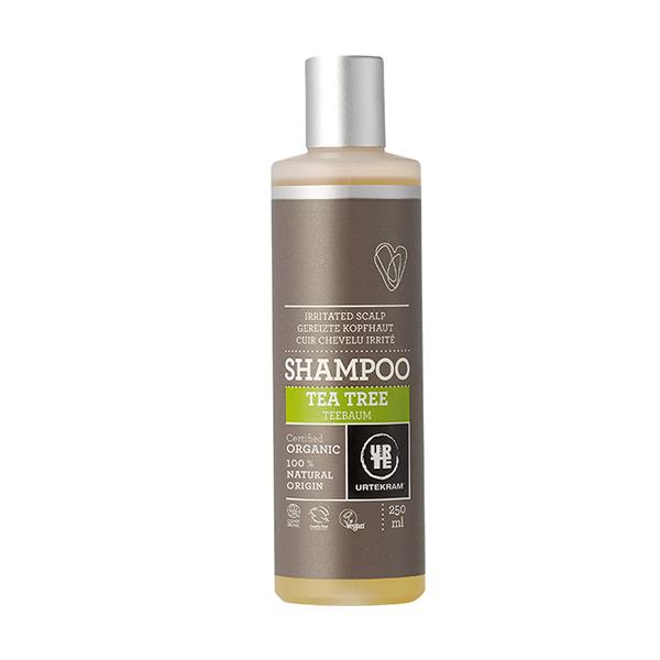 Sampon cu tea tree pt scalp iritat BIO Urtekram - 250 ml