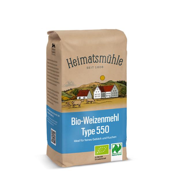 Faina grau tip 550 Germania BIO - 1 kg