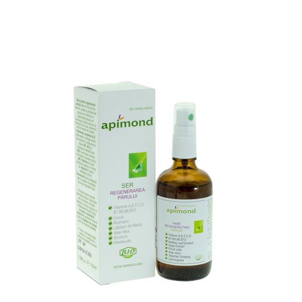 Ser pentru regenerarea parului BIO Apimond - 100 ml