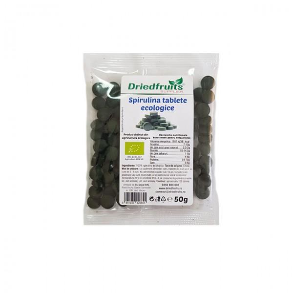 Spirulina tablete 400 mg BIO - 50 g