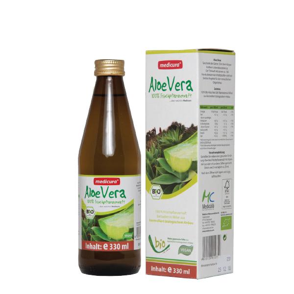 Suc aloe vera BIO Medicura - 330 ml
