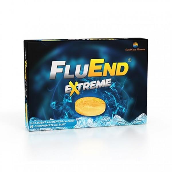 Fluend Extreme Sun Wave Pharma - 16 comprimate