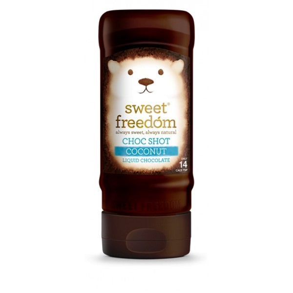 Sirop de ciocolata cu cocos Choc Shot Sweet Freedom - 320 g
