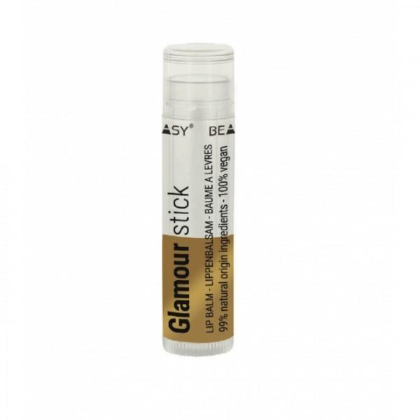 Balsam de buze glamour cu particule de sclipici, unt de shea si unt de mango Beauty Made Easy - 4.8 g