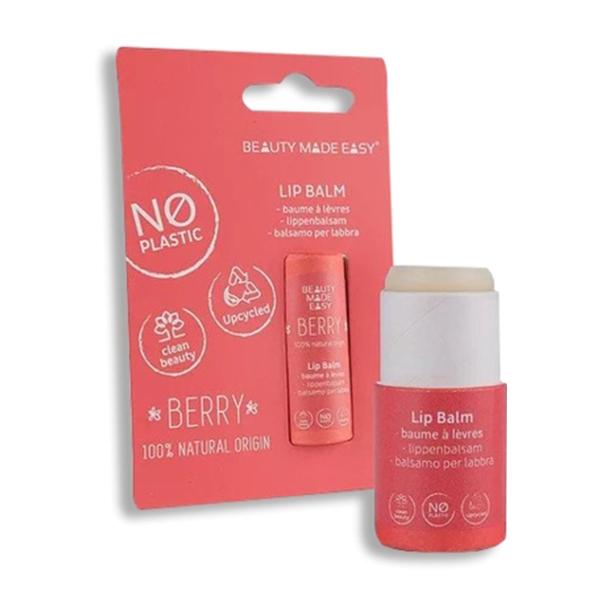 Balsam de buze Berry - zero plastic Beauty Made Easy - 6 g