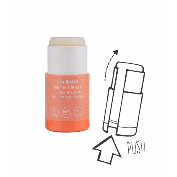 Balsam de buze cu ceara de albine organica - zero plastic Beauty Made Easy - 6 g