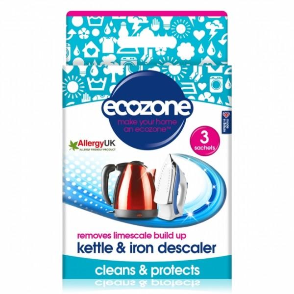 Detartrant pentru fierbator si fier de calcat (3 bucati) ECOZONE