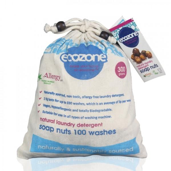 Nuci de sapun (100 spalari) ECOZONE - 300 g