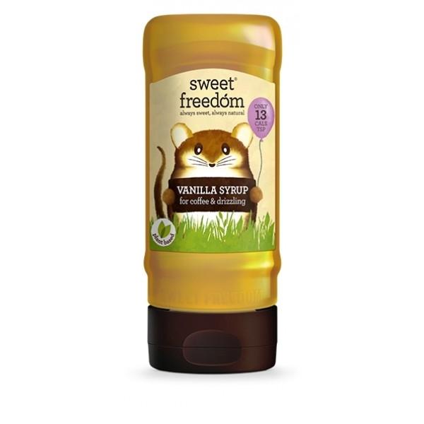 Sirop de vanilie pentru bauturi pe baza de cafea Sweet Freedom - 350 g