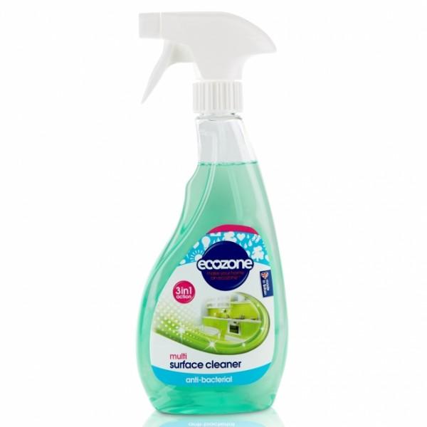 Solutie curatat multi suprafete (3 in 1) cu aloe si castravete ECOZONE - 500 ml