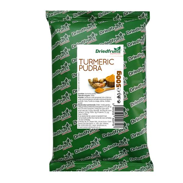 Turmeric pudra Driedfruits - 500 g