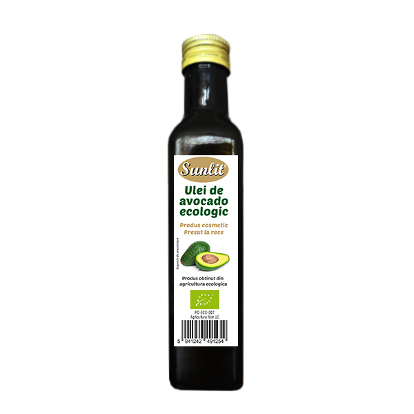 Ulei avocado cosmetic BIO - 250 ml