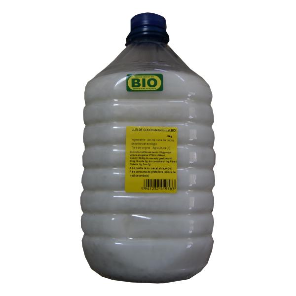 Ulei cocos alimentar BIO - 5 kg
