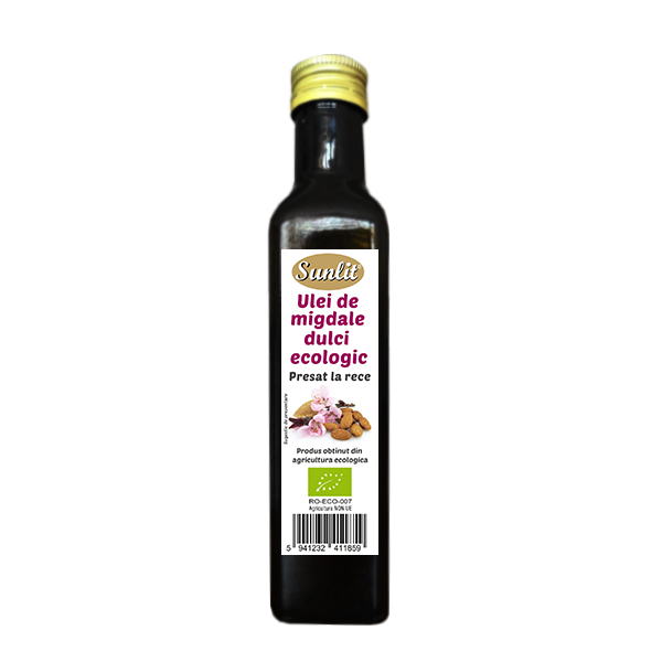 Ulei migdale dulci cosmetic BIO Driedfruits - 250 ml