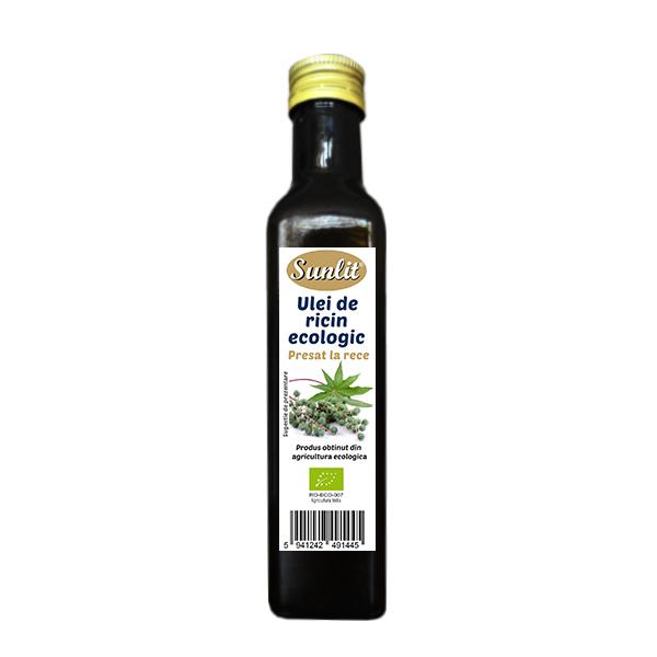 Ulei ricin cosmetic BIO - 250 ml