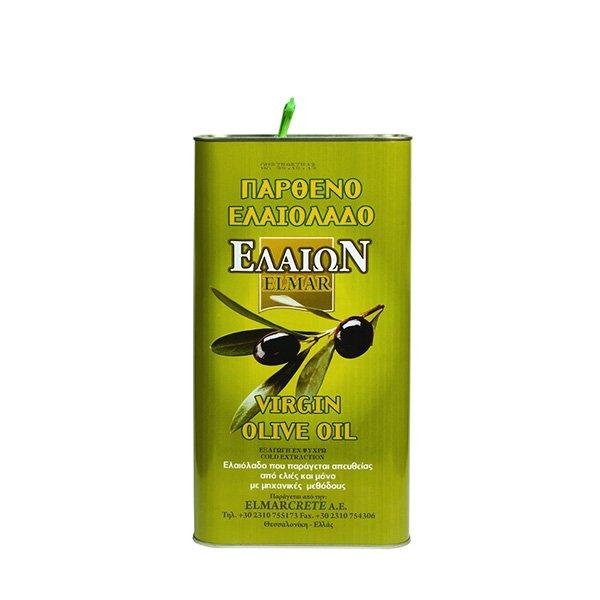 Ulei masline virgin Creta (canistra) - 3 litri