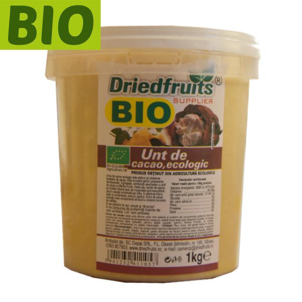 Unt cacao alimentar dezodorizat BIO - 1 kg