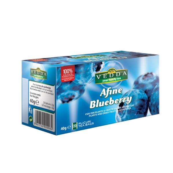 Ceai Afine (20 plicuri) VEDDA - 40 g