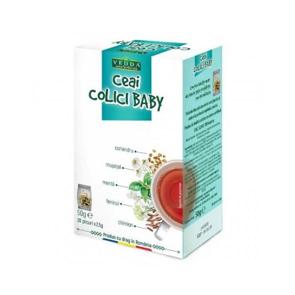 Ceai colici Baby (20 plicuri) Vedda - 50 g