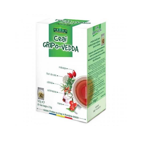 Ceai Gripo (20 plicuri) Vedda - 50 g