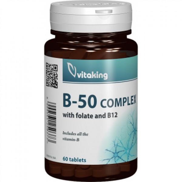 Complex Mega B-50 Vitaking - 60 comprimate