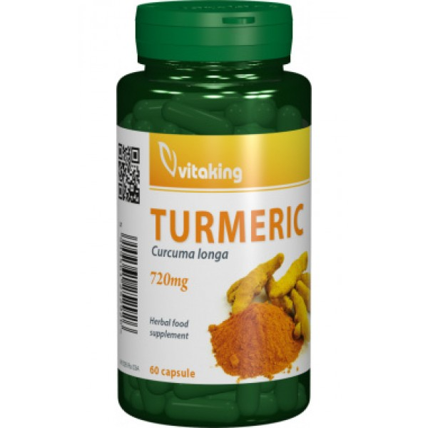 Curcuma (Turmeric) 720 mg VITAKING - 60 capsule