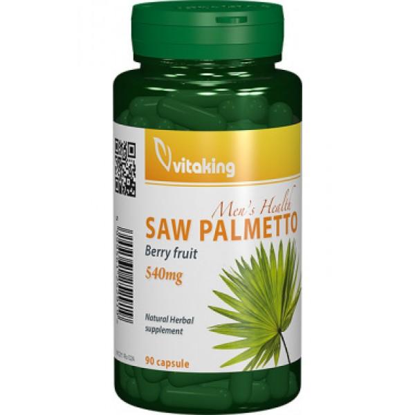 Extract de Palmier Pitic (Saw Palmetto) 540 mg Vitaking - 90 capsule